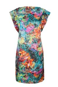Silk Dress, Summer Dress 2014, Irish design, handmade in Ireland